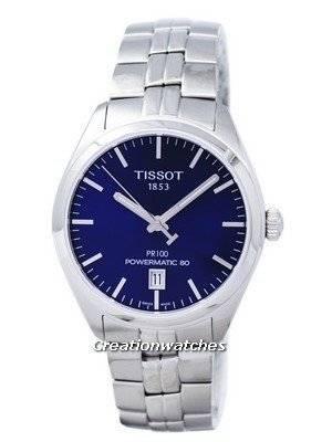 Tissot T-Classic PR 100 Powermatic 80 T101.407.11.041.00 T1014071104100 Men's Watch