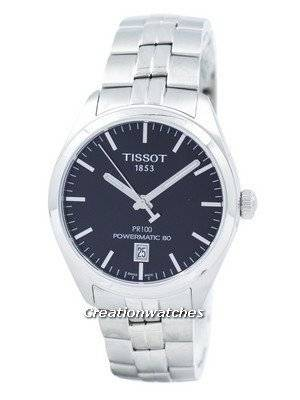 Tissot T-Classic PR 100 Powermatic 80 Automatic T101.407.11.051.00 T1014071105100 Men's Watch