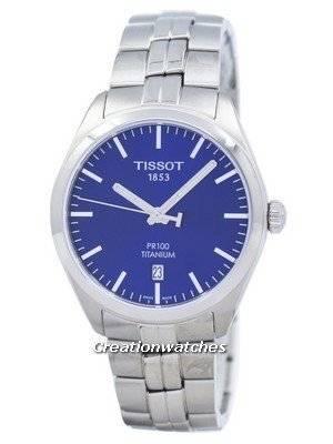Tissot T-Classic PR 100 Titanium Quartz T101.410.44.041.00 T1014104404100 Men's Watch