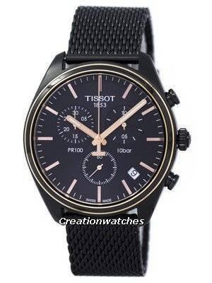 Tissot T-Classic PR 100 Chronograph T101.417.23.061.00 T1014172306100 Men's Watch