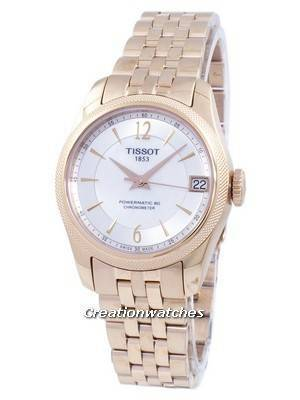 Tissot Ballade Powermatic 80 COSC Automatic T108.208.33.117.00 T1082083311700 Women's Watch