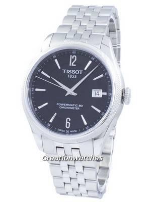 Tissot T-Classic Ballade Powermatic 80 COSC Automatic T108.408.11.057.00 T1084081105700 Men's Watch