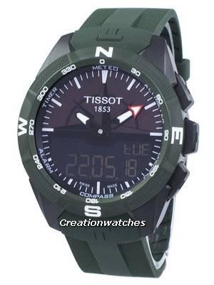 Tissot T-Touch Expert Solar II Quartz T110.420.47.051.00 T1104204705100 Men's Watch