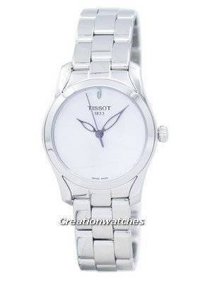 Tissot T-Lady T-Wave Quartz Analog T112.210.11.031.00 T1122101103100 Women's Watch