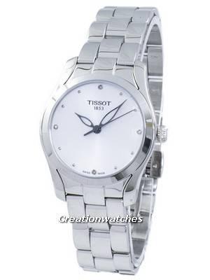 Tissot T-Lady T-Wave Quartz T112.210.11.036.00 T1122101103600 Women's Watch