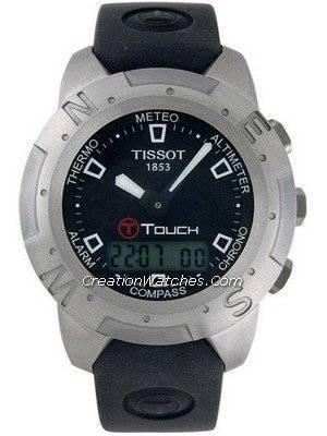 Tissot T-Touch Titanium Multifunction Chronograph T33.7.598.51