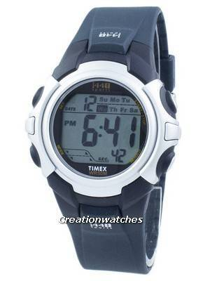 Timex 1440 Sports Indiglo Alarm Wi-Fi Digital T5J571 Men's Watch