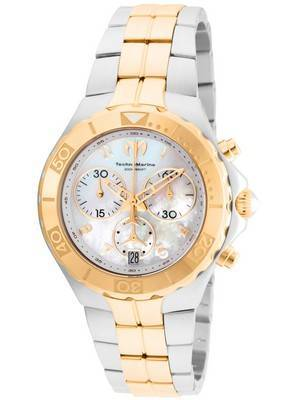 TechnoMarine Pearl Sea Collection Chronograph TM-715001 Women's Watch