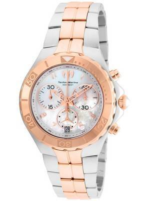 TechnoMarine Pearl Sea Collection Chronograph TM-715002 Women's Watch