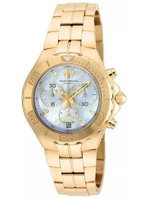 TechnoMarine Pearl Sea Collection Chronograph TM-715003 Women's Watch