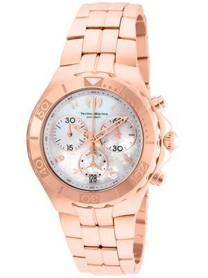 TechnoMarine Pearl Sea Collection Chronograph TM-715005 Women's Watch
