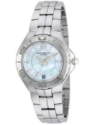 TechnoMarine Pearl Sea Collection Quartz TM-715012 Women's Watch