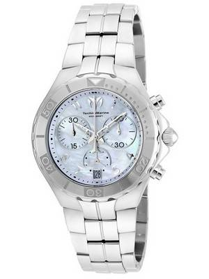 TechnoMarine Pearl Sea Collection Chronograph TM-715014 Women's Watch