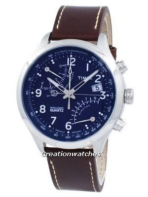 Timex Intelligent Fly-Back Chronograph Quartz Indiglo TW2P78800 Men's Watch