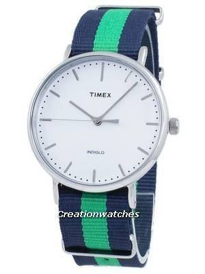 Timex Weekender Fairfield Indiglo Quartz TW2P90800 Unisex Watch