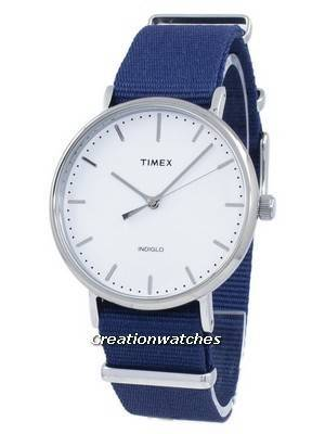 Timex Weekender Fairfield Indiglo Quartz TW2P97700 Unisex Watch