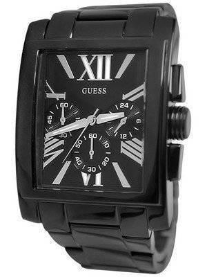 Guess Chronograph Black Stainless Steel Quartz U0009G3 Men's Watch