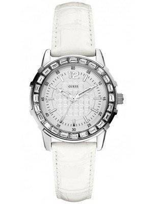 Guess Quartz Croco Grain Leather U0019L1 Women's Watch