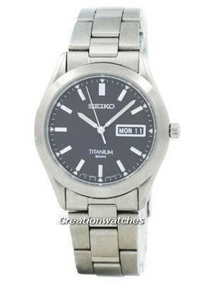 Refurbished Seiko Titanium SGG599 SGG599P1 SGG599P Men's Watch