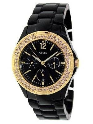 Guess Quartz Quartz Black Band U0062L8 Women's Watch