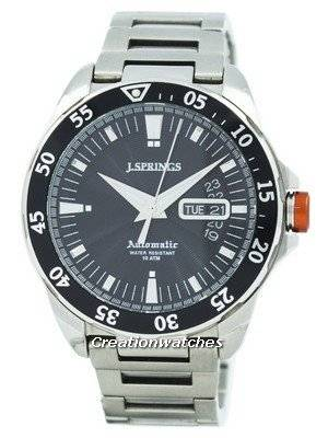 Refurbished J.Springs by Seiko Automatic Black Dial 100M BEB063 Men's Watch