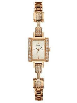 Guess Quartz Rose Gold Tone U0136L3 Women's Watch