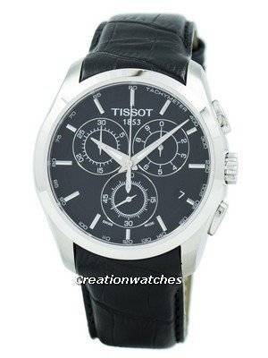 Refurbished Tissot Couturier Quartz Chronograph T035.617.16.051.00 T0356171605100 Men's Watch