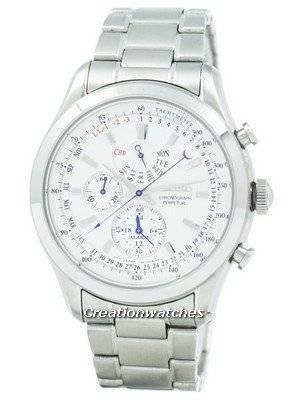 Refurbished Seiko Chronograph Perpetual SPC123 SPC123P1 SPC123P Men's Watch