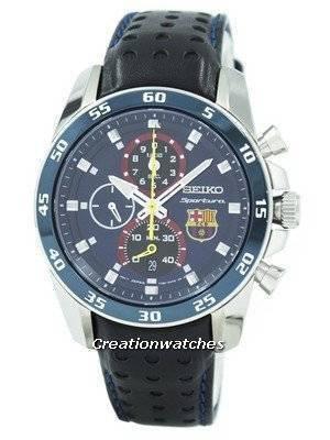 Refurbished Seiko Sportura FC Barcelona SPC089 SPC089P1 SPC089P Men's Watch