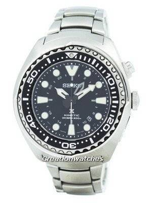 Refurbished Seiko Prospex Kinetic Divers SUN019 SUN019P1 SUN019P Men's Watch