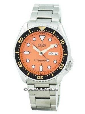 Refurbished Seiko Automatic Diver's 200M Oyster Strap SKX011J3-Oys Men's Watch
