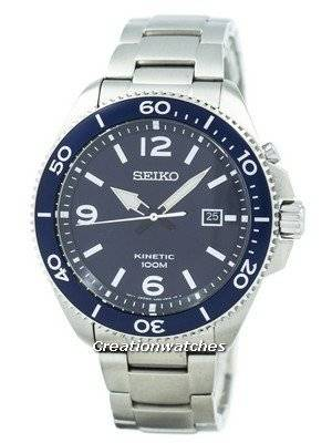 Refurbished Seiko Kinetic 100M SKA745 SKA745P1 SKA745P Men's Watch