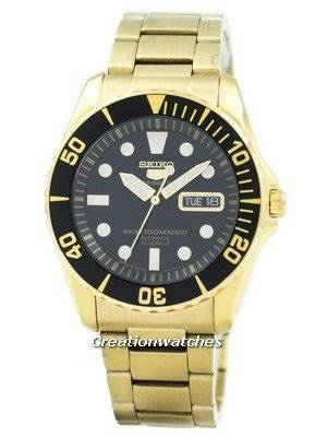 Refurbished Seiko 5 Sports Automatic 23 Jewels Japan Made SNZF22 SNZF22J1 SNZF22J Men's Watch
