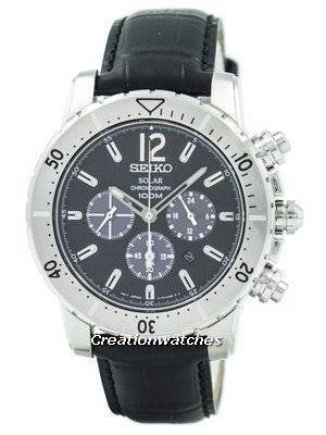 Refurbished Seiko Solar Chronograph SSC223P2 Men's Watch