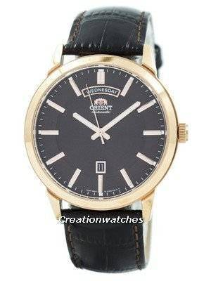 Refurbished Orient Classic Automatic Brown Dial Leather Strap EV0U002T Men's Watch