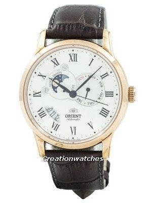 Refurbished Orient Automatic Sun And Moon Collection FET0T001W0 ET0T001W Men's Watch