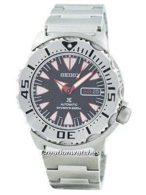 Refurbished Seiko Monster Automatic Diver's SRP313K2 Men's Watch