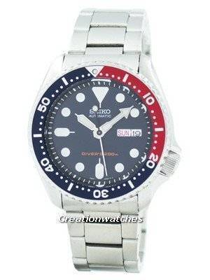 Refurbished Seiko Automatic Diver's 200M Oyster Strap SKX009K3-Oys Men's Watch