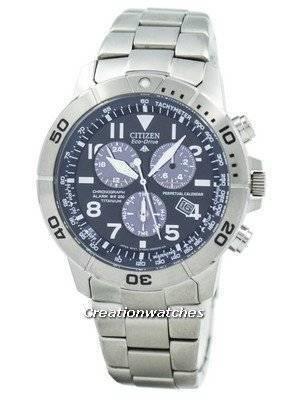 Refurbished Citizen Eco-Drive Titanium Perpetual BL5251-51L / BL5250-53L Men's Watch
