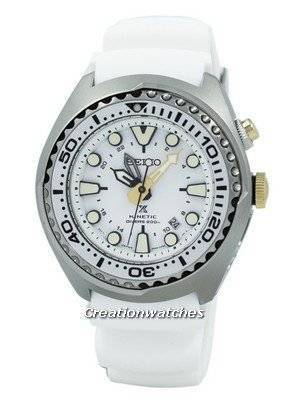 Refurbished Seiko Prospex Sea Kinetic GMT Diver's 200M SUN043 SUN043P1 SUN043P Men's Watch