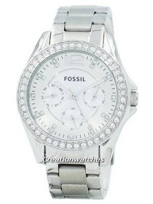 Refurbished Fossil Riley Multifunction Crystal Dial ES3202 Women's Watch