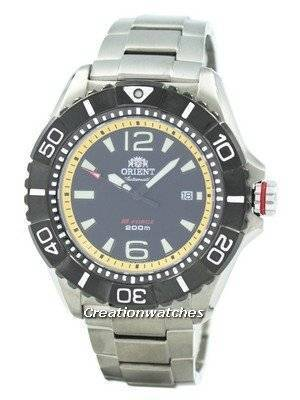 Refurbished Orient Automatic M-Force Titanium SDV01002B0 SDV01002B Men's Watch