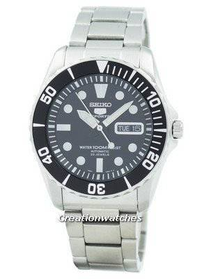 Refurbished Seiko 5 Sports Automatic 23 Jewels SNZF17 SNZF17K1 SNZF17K Men's Watch