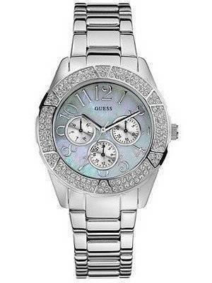 Guess Crystal Quartz U12510L1 Womens Watch