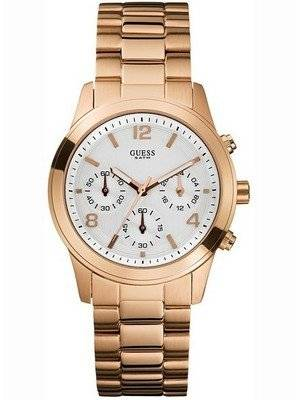 Guess Feminine Contemporary Chronograph U13578L5 Womens Watch