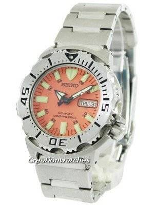 Refurbished Seiko Diver's Automatic Orange Monster SKX781K SKX781 200M Men's Watch
