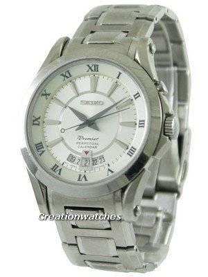 Refurbished Seiko Premier Perpetual Calendar SNQ107P1 SNQ107P Men's Watch