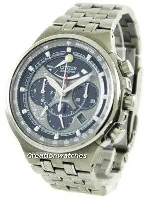 Refurbished Citizen Promaster Eco-Drive Chronograph Titanium AV0020-55H Men's Watch