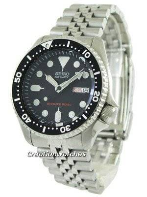 Refurbished Seiko Automatic Divers 200M SKX007K2 Men's Watch