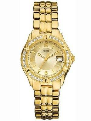 Guess Crystal Gold Bubble U85110L1 Womens watch